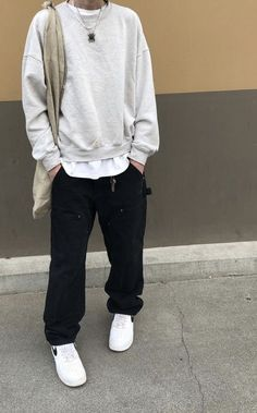 Indie Outfits, Retro Outfits, Stylish Mens Outfits, Casual Outfits, Cool Outfits For Men, Teenage Boy Fashion, Streetwear Fashion, Male Streetwear, Casual Street Style