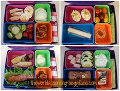 Bento Box Lunch Ideas - Low Carb Weight Loss Protein Packed Fitness Health #Eggface