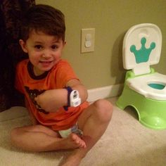 Great review of The Potty Watch with HILARIOUS song by Mom | Macaroni Kid Blue Ridge #potty #toilet #training #watch #toddler #children #child #boy #diaper #pull-up #goodnites