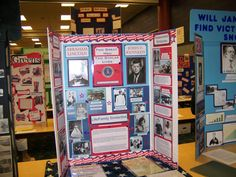 "History Fair - Display Board Examples and various helps/articles under ""resources"""