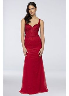 With its romantic sweetheart neckline, tonal crystal embellishments, and removable overskirt, this tulle prom dress will make you feel like the star of your own fairy tale. By Terani Couture Polyester Back zipper; fully lined Dry clean Imported Tulle Prom Dress, Prom Dresses, Formal Dresses, Terani Couture, Prom Dress Shopping, Red Wedding Dresses, Necklines For Dresses, Davids Bridal, Couture Dresses