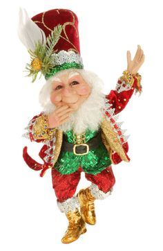 Come in and see it or purchase online today! Santa Christmas, Christmas Carol, Christmas Crafts, Christmas Decorations, Christmas Ornaments, Mark Roberts Elves, Mark Roberts Fairies, Elf Doll, Dolls