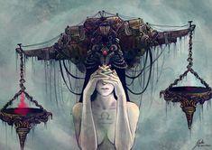 The most beautiful Libra interpretation I've seen! #libra #astrology #art