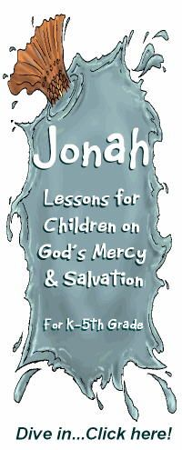 Picture says Jonah (weird), but it's really a lesson idea for Moses--click on link for Bible Lessons with Special Activities for a lot of ideas.