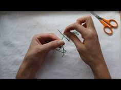 Tee solmu langanpäähän - YouTube Triangle, Youtube, Tattoos, Fabric, Tejido, Tatuajes, Tela, Tattoo, Cloths