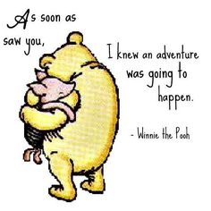 Just love Whinnie the Pooh... #whinniethepooh #aamilne #piglet #childrensbooks #beatrixpotter #ditty #loveconquersall