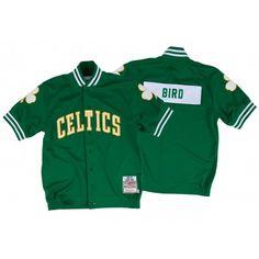 c23bf34e5ca Larry Bird Authentic Shooting Shirt Boston Celtics - Shop Mitchell   Ness  NBA Shirts and Apparel