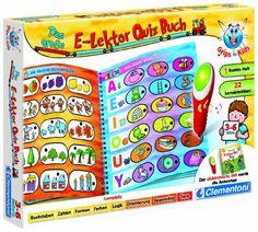Clementoni 69241.5 - Das große E-Lektor Quiz Buch Clementoni http://www.amazon.de/dp/B007THQQFA/ref=cm_sw_r_pi_dp_keqwub1KQR16Z / 12 (Kindergarten-alter)
