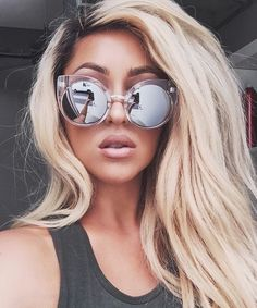 ca1eeced852 Style fashion ideas Mirrored Sunglasses