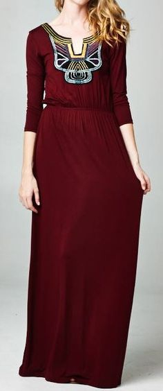 Embroidered Lauren Dress - This is so pretty!