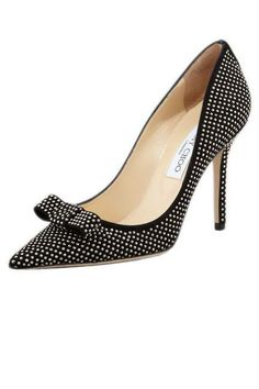 #Kind of polka dots, kind of studs - Jimmy Choo Marcie pumps