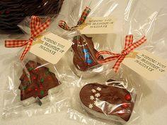 Fudge in cookie cutters