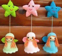 25 Besten Engel Bilder Auf Pinterest Crochet Angels Handarbeit
