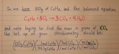 stoichiometry | Tumblr, mass conversions Chemistry Notes, School Teacher, Homeschool, College, Tumblr, University, Tumbler, Homeschooling, Community College