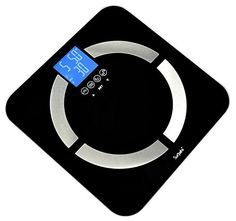 Surpahs Sense-ON Multifunction Digital Bathroom Scale, 400 lb - Body Fat Monitor - Measures Body Weight, BMI, Body Water, Muscle & Bone Mass - 8 Users Auto Recognition (Black) Surpahs http://www.amazon.com/dp/B00J48YZMI/ref=cm_sw_r_pi_dp_aG71wb0JQNQWK