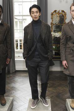 Hardy Amies Menswear Fall Winter 2016 London