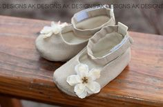AK DESIGNS Elegant Baby Shoes  Little Ashley by yuriyolga on Etsy, $24.99