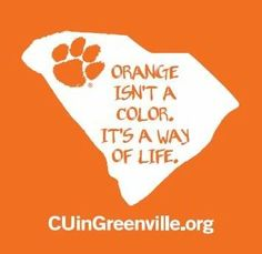Clemson...though it should be see you in Clemson.org.