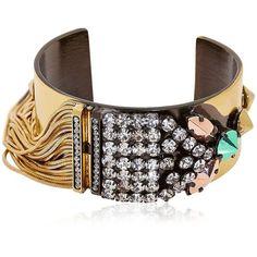 IOSSELLIANI Bohemian Rhapsody Bracelet (1,435 ILS) ❤ liked on Polyvore
