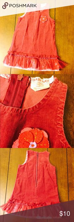 Flash sale! Baby nay cord jumper Girls size 4 baby nay cord jumper. Some wear. Super cute! Two hour Flash sale. No offers accepted. Bundle discount still applies! Baby Nay Dresses Casual