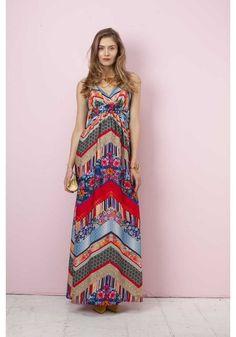 48198dc7885 Robe longue de  grossesse habillée imprimée Patchwork - Pietro Brunelli  Milano -  Taylorbox
