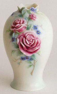 english garden rose vase