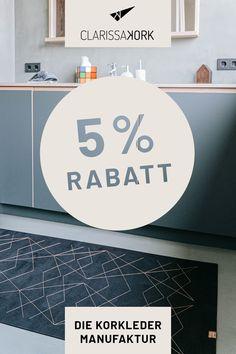 CLARISSAKORK ist ein unkonventionelles Label für Teppiche, Wohnaccessoires & Kinderprodukte aus Kork – inspiriert von grafischen Mustern, klaren Linien und zurückhaltenden Farben. Ganz pur und schlicht, hochwertig bestickt oder liebevoll bedruckt für unsere Kleinen. Alle Produkte werden mit viel Liebe zum Detail von Hand in unserer Manufaktur im Bregenzerwald (Österreich) gefertigt. Sichere dir einmalig 5% Rabatt auf deinen Einkauf und melde dich zum Newsletter an für regelmäßige… Design, Home Decor, Rugs, Shopping, Home Decor Accessories, Decoration Home, Room Decor, Home Interior Design