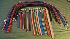 Paracord collars and leashes message Guy A Hout on Facebook