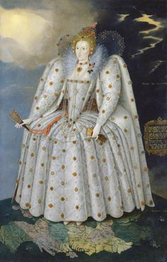 Ten great portraits of Queens   Madame Guillotine.  Queen Elizabeth I ('The Ditchley portrait'), Marcus Gheeraerts the Younger, 1592. Photo: National Portrait Gallery, London.