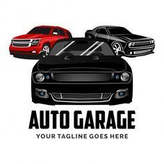 Conjunto de inspiración de diseño de log... | Premium Vector #Freepik #vector #logo #negocios #vintage #etiqueta Sports Car Logos, Red Sports Car, Garage Logo, Car Garage, Car Wash Company, Transportation Logo, Speed Logo, Car Banner, Painting Logo