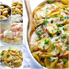 Lemon chick pot bake