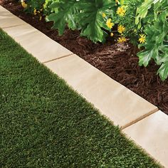 Makeover your front and backyard with a lawn border. The landscape edging can be installed easily in all soil conditions-recommend using a rubber mallet. You can easily cut the lawn border to the size you need so that you may create a custom length for yo Landscape Borders, Landscape Plans, Garden Borders, Landscape Designs, Garden Edge Border, Garden Boarders Ideas, Garden Edging Ideas Cheap, Garden Border Edging, Flower Bed Borders