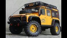 Traxxas TRX4 Land Rover Defender Camel Trophy & HG P402 #radiocontrol