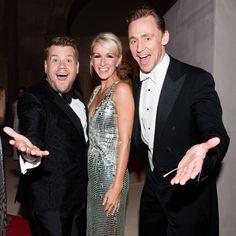 Vogue - Exclusive! Inside the 2016 Met Gala - James Corden and Tom Hiddleston