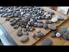 Şeffaf Epoksi Scalica Taşlı Yuvarlak Masa ve Talaşlı imalat - YouTube