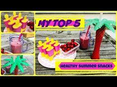 ☼5 Zdravých Dobrot || Léto ♡☼ - YouTube Healthy Summer Snacks, Make It Yourself, Birthday, Youtube, Birthdays, Youtubers, Dirt Bike Birthday, Youtube Movies, Birth Day