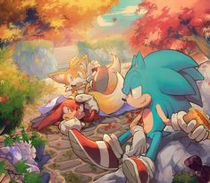 This is one of the cutest sonic photos I've ever seen! :3