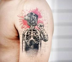 Cameraman tattoo by John Monteiro