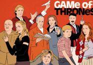 Os personagens de Game of Thrones em Mad Men, Arrested Development e Seinfeld