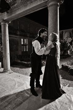 """From: https://www.facebook.com/media/set/?set=a.114456665294780.18293.100001913407898&type=3/  Giuseppe Verdi - Rigoletto/ """"RIGOLETTO FROM  MANTUA"""" / PHOTO: Cristiano Giglioli /  Rigoletto - Placido Domingo; Gilda - Julia Novikova; Duke of Mantua - Vittorio Grigolo; Sparafucile - Ruggero Raimondi; Maddalena - Nino Surguladze/ directed by Marco Bellocchio/ RAI National Symphony Orchestra conducted by Zubin Mehta/ RAI TV 2010. Julia Novikova, vittorio Grigolo"""