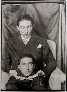 Benjamin Fondane, Portraits by Man Ray, 1921-1937 - Retronaut