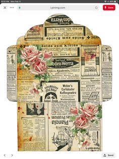 Junk Journal, Journal Cards, Vintage Labels, Vintage Ephemera, Etiquette Vintage, Envelope Art, Printable Paper, Printable Scrapbook Paper, Mail Art