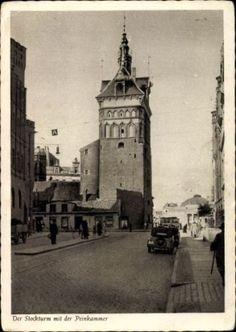 Ak-Gda-sk-Danzig-Der-Stockturm-mit-der-Peinkammer-1472381