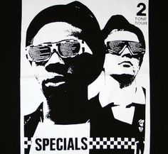 The Specials, Madness, Selecter 2 tone tour played Oldham Queen Elizabeth Hall Oct. Tour Posters, Band Posters, Music Posters, Genre Musical, Ska Music, Skinhead Reggae, Afro, Ska Punk, Pop Art