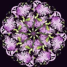 Lilacs Kaleidoscope Quilt Kit