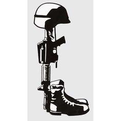 Fallen Soldier Drawing Or the fallen soldier one! Soldier Silhouette, Silhouette Art, Silhouette Cameo Projects, Vinyl Decals, Cricut Vinyl, Soldier Drawing, Fallen Heroes, Fallen Soldiers, Wood Burning Patterns