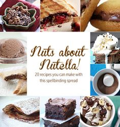 20 Nutella Recipes: Pancakes, pizza, hot chocolate, and more!