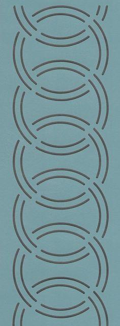 """Oriental Knot Border 2"""" - The Stencil Company"""