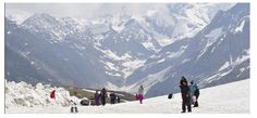 Exploring high mountain peaks is always a pleasure for tourists. It is available from Rohtang Pass only when the whole Manali was covered with snow. Best hearthbreaking view from Rohtang Pass of Snow Glaciers.