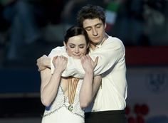 In June 2010 I was introduced to the sport, ice dance. This is Tessa Virtue and Scott Moir. They are Canadian. They rock at Ice Dancing. I envy them, love them, and obsess over them